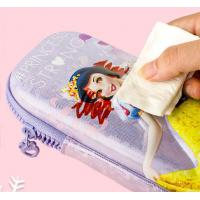 Quality Anti Fouling Stationery Organiser Pencil Case Lightweight With Zipper Colorful for sale