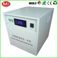 Lifepo4 Lithium Ion Batteries Solar Energy Storage Solar Controller Inverter All In One Manufactures