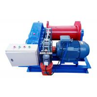 Small Size Electric Motor Powered Cable Pulling Winch 10 Ton For Lifting Manufactures