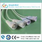 Edwards DPT cable ,Edwards disposable pressure transducer cable,flat cable,35mm,PVC Manufactures