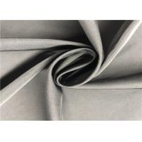 100% Coated Polyester Fabric 2/1 Twill Twisted Coating Memory Fabric For Wind Coat Manufactures