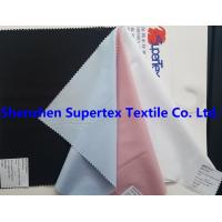 95GSM 60S 40D Stretch Cotton Fabric Poplin Garment Fabric For Work Apparel Manufactures