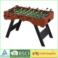 China Official Foosball Table sliding bearing soccer game table 102 x 58cm on sale