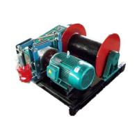 YT JM Slow Speed Electric Winch for lifting pulling Electric Control Box with Push Button Manufactures