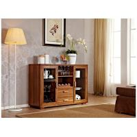 Brown Console Table With Ample Storage Room , Entrance Hall Table Manufactures