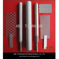 Gr5 titanium anodes for water treatment Manufactures