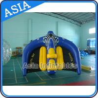 0.9mm PVC Tarpaulin Inflatable Flying Manta Ray / Fly Fish Inflatable Water Parks Manufactures