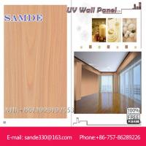 High density fiber  cement uv wall board/panel/sheet  2440*1220*6/8/9mm Manufactures