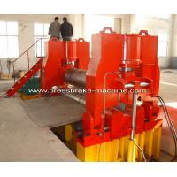 Metal CNC Plate Rolling Machine Bending Rolls Hydraulic Drive Manufactures