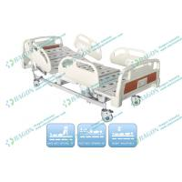 Three Functions electric medical bed Silent Castor With Brakes , Hospital Care Furniture Manufactures