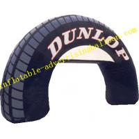 Quality Customized 210D Oxford Fabric Inflatable Arch / Inflatable Gate Balloon For Wedding for sale