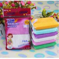 China The classic bamboo fiber kitchen sponge for cleaning dishes on sale