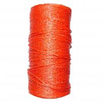 Hot sale electric fence shock PE UV stabilized poly rope for animal farm fence QL715 Manufactures