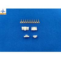 White 1.00mm Circuit Wire Connectors Housing With PA66 Materials Manufactures