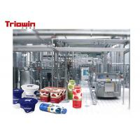 Heavy Duty Airy Processing Line Condensed Yogurt Processing Equipment  380V/220V Manufactures