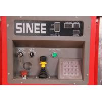 SINEE 55 kw Inverter Building Material Hoist with 400kg Lifting Device on Cage Top Manufactures