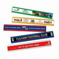 China Promotional Rulers, Made of PVC and Aluminum on sale