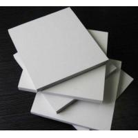 Rectangle White Sintra PVC Foam Board , 5mm Moisture Proof Foam Insulation Board Manufactures