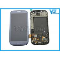 White Black Cell Phone LCD Screens , Samsung Lcd Display / S3 Lcd Display Manufactures