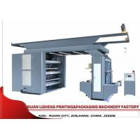 Synchronous Belt Drive System Flexo Printing Machine , 6 Color Manufactures