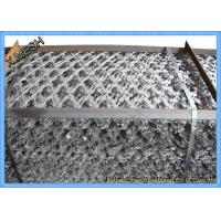 Welded Galvanized Concertina Razor Barbed Wire Fencing With Loops Manufactures