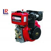 Quality 4 Stroke 7.5KW 10HP Diesel Engine Manual With Air Cooled Single Cylinder for sale