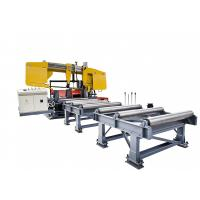 Band Sawing Machine for Cutting Beams Used in Steel Structure Industry Manufactures