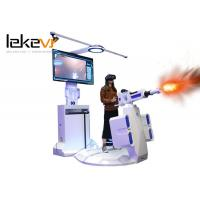 Multi Player Virtual Reality Shooting Simulator / 9d VR Equipment Standing Arcade Games Machines Manufactures
