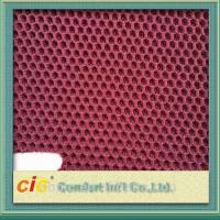 100 Polyester Mesh Fabric / 3d Air Mesh Fabric For Motorcycle Seat Cover , 140-150cm Width Manufactures