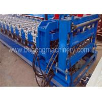 3-4m / Min Speed Blue Roof Tile Forming Machine For Aluminum Sheet Using Manufactures