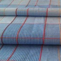100% cotton yarn dyed fabric, 60s x 60s yarn count, 130 x 110 density, 57 or 58 inches width Manufactures