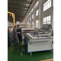 Semi Auto Flat Screen Printing Machine With Electric Vertical Up And Down Manufactures