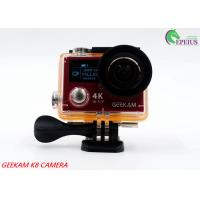 2.4G Remote VR 360 Panoramic Video CameraK8R 170° Angle With Dual Screen Manufactures
