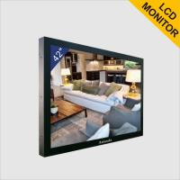 High Resolution 1080P CCTV LCD Monitor Advertising LCD Screens For Police Office Manufactures