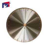 350 Mm Circular Scroll Saw Blade , Diamond Smooth Concrete Cutting Disc Manufactures