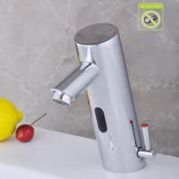 China Contemporary Bathroom Sink Faucet with Hot and Cold Hydropower Automatic Sensor - T0106AP on sale