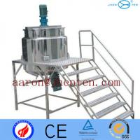 Paint Mixing Machine Stainless Steel Mixing Tank Open Top Single Layer Manufactures