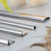 Brushed Finish Gold Stainless Steel Trim Edge Trim Molding 201 304 316 wall ceiling frame Manufactures