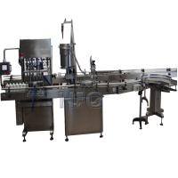 Automatic Cup Packing Machine With Moist Tobacco Filling , Capping And Labeling Machine Manufactures