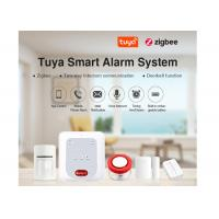 DC 5V 2A Power Supply Wireless Security Alarm System Pir Sensor Remote Controller Manufactures