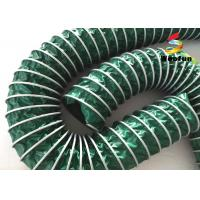 Quality Portable Spiral PVC High Temperature Flexible Hose Lightweight Customized for sale