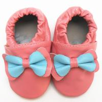 handmade lovely leather soft sole baby shoes-3 Manufactures