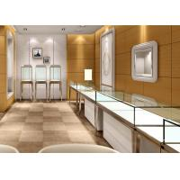 Jewellery Shop Display Cabinets / Store Display Cases Eco - Friendly Material Manufactures