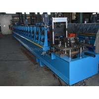 45#steel Photovoltaic Support Roll Forming Machine By Chain / Gear Box Driven System  With Panasonic PLC Manufactures
