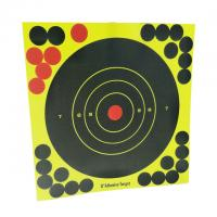 Heavy Card Reactive Splatter Shooting Targets Multi Colour  Super Splatter Targets 8 Self Adhesive Shooting Targets Manufactures