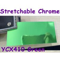 China Stretchable Chrome Mirror Car Wrapping Vinyl Film - Chrome Green wholesale