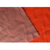 China EN 20471 Standard Fluorescent Material Fabric Cotton Polyester Workwear Fabric on sale