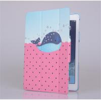 Fashion design PU leather protect pouch flip cover for tablet Apple ipad air,smart stand, Manufactures
