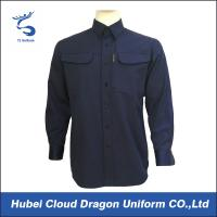 Waterproof Ripstop Military Tactical Shirts , Military Police Shirts For Men