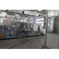 China 300 piece/min Speed Wet Wipes Production Line Singel Piece And 10 In One Packaging on sale